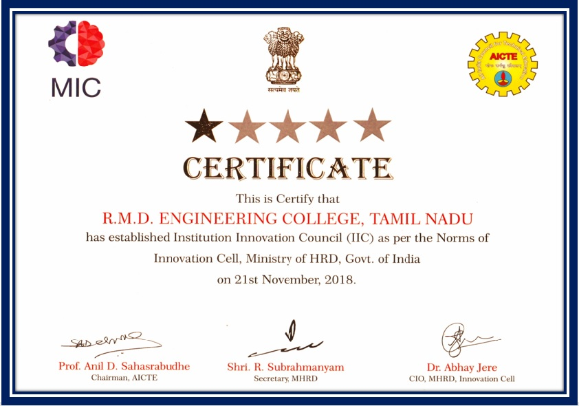 RMD ENGINEERING COLLEGE